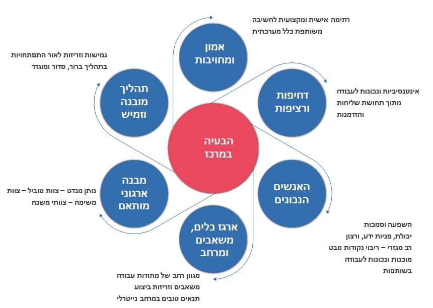 מודל העבודה של צוות המשימה