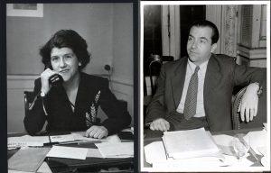 האחות והאח אינגה וראגנאר גוטפרב, שניהם אנשי הג'וינט