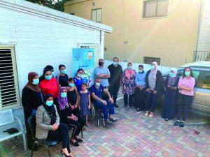 פעילות קהילת עראבה במהלך הקורונה (צילום: חאלד שלוש)