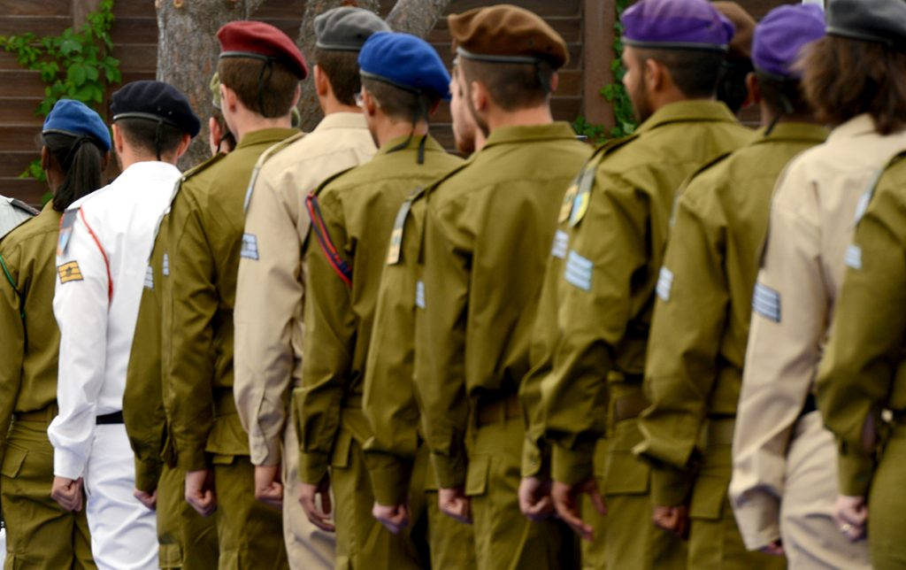 """בתמונה: חיילי צה""""ל. (צילום: חיים זך, לע""""מ)"""