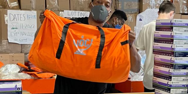 סיוע חירום לנפגעי רעידת האדמה בהאיטי